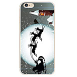 Christmas Snow Driving Pattern TPU Soft Phone Case iPhone 6/6S
