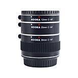 Les tubes d'extension en aluminium af Kooka-de c68a de pour Canon EF&(12mm 20mm 36mm) les appareils photo reflex EF-