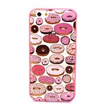 2-in-1 Sweet Circle Pattern TPU Back Cover with PC Bumper Shockproof Soft Case for iPhone 6/6S