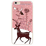 Christmas Fawn Pattern TPU Soft Phone Case iPhone 6/6S