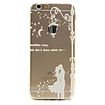 Sweetheart Pattern TPU Soft Phone Case for iPhone 6/6S