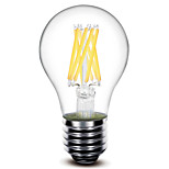 1 pcs 深美乐 E26/E27 8 W 8 COB 800 LM Warm White A60 Decorative LED Filament Lamps AC 220-240 V