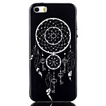 Wind Chimes Pattern TPU Soft Cover for iPhone 5/5S