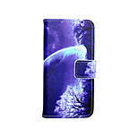 Starry Sky Painted PU Phone Case for iphone 6/6S