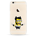 Wolverine Yellow People Pattern TPU Soft Phone Case for iPhone 6/6S