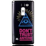 Color triangle eye Pattern TPU Phone Case for LG Leon  H340N/LG Spirit H422/Magna H502