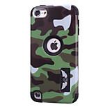 copertina rigida antiurto impermeabile caso il servizio militare per iPod itouch5 (colori assortiti)