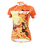 ilpaladinoSport Women Short Sleeve Cycling Jersey New Style Distinctive  DX587  autumn Trust 100% Polyester