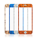 Carbon Fiber Round Edge Screen Protector Toughened Film HD Clear Tempered Glass For iPhone6/6S 4.7 inch(Assorted Color)