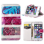 Novelty Cartoon Magnetic Buckle PU Leather Folio Case Shockproof Case for iPhone 6/6S