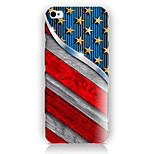 China's Flag Pattern PC Phone Case Back Cover Case for iPhone5/5S