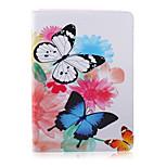 der Schmetterling Blütenmuster Stents Fall für ipad 2 Luft