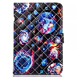 Novelty Cartoon Magnetic Buckle PU Leather Folio Case Shockproof Case for iPad Mini 3/2/1