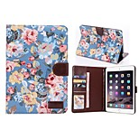 Flower Buppee Pattern PU Leather Tablet Full Body Cases with Stand for iPad 2/3/4