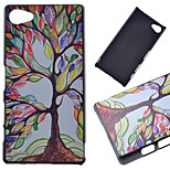 Color Tree Pattern PC Hard Cover Case for Sony Xperia Z5 Compact