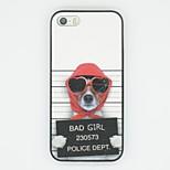 cartone animato cattivo modello ragazza scintilla tpu caso della copertura posteriore per iPhone 5 / 5s