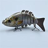 10.5 CM 20.5 G Hard Plastic Sun Fish Fishing Bait Live Like Swim Motion Swim Bait for Fishing