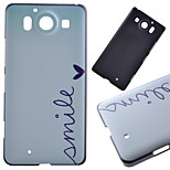 Smile Pattern PC Hard Cover Case for NOKIA 950