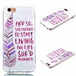 Plus3D TPU minimalist style painted iphone6 soft rear cover