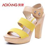 Aokang® Women's Leatherette Sandals - 132825132