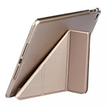 Solid Color Flip Smart Stand PU Leather Case for iPad Mini 4 (Assorted Colors)