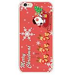 Christmas Snowflake Pattern TPU Soft Phone Case iPhone 6/6S