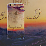 Sunset TPU+Acrylic Anti-Scratch Backplane Combo Phone Case for iPhone 6/6S