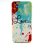 Water Color Phone Shell Thin TPU Material for iPhone 6/6S
