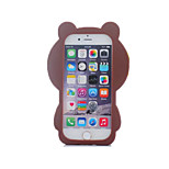 Little Bear Silicone Soft Back Case for iPhone 5/5S(Assorted Colors)
