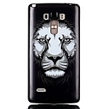 Lion TPU Material Cell Phone Case for LG G4