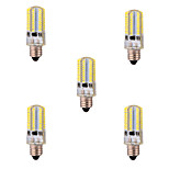 5 pcs E11 8 W 80 SMD 3014 720 LM Warm White / Cool White T Dimmable / Decorative Corn Bulbs AC 220-240 / AC 110-130 V