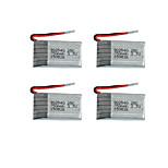 3.7 v 750 mAh 25 C 902540 zona placa del syma X5c juguetes rc baterías pequeñas 4 piezas