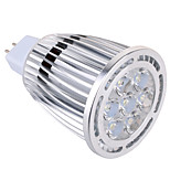 GU5.3(MR16) 9 W 7x3030SMD 850 LM Warm White / Cool White MR16 Decorative Spot Lights AC 85-265 / AC 12 V