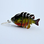 10 CM 14.3 G Multi-jointed Fishing Lures Floating Sunfish Segment Lures for Freshwater Fishing