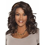 Elegant Women Lady  Syntheic Wig Extensions Blended Color And Top Quality