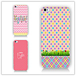 Dot Line Pattern PC Phone Case Back Cover Case for iPhone5/5S