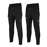 ARSUXEO Bike/Cycling Pants/Trousers/Overtrousers / Bottoms Men'sWaterproof / Windproof / Thermal / Warm / Reflective Strips / Fleece