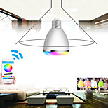 APP RGB  LED Wireless Bluetooth Speaker Bulb Audio Speaker Music Playing & Lighting With APP E27