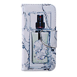 Perfume Bottle Painted PU Phone Case for iphone 6/6S
