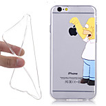 New Simpson Fashion 3D Cartoon Pattern TPU Soft Phone Case for iPhone 5/5S