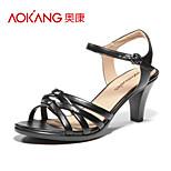 Aokang® Women's Leather Sandals - 132812060