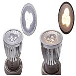 1 Stück other Dekorativ Spot Lampen Drehbae GU10 / E26/E27 3 W 300 LM White (6000-6500K) K 3 SMD Warmes Weiß / Natürliches Weiß AC 85-265
