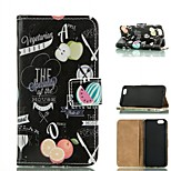 Fruits  Design PU Leather Full Body Case with Card Slot  for iPhone 6/6S