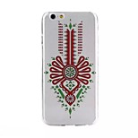 Painting Pattern TPU+IMD Ultrathin Back Case For iPhone6/6s