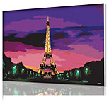 DIY Digital Oil Painting  Frame Family Fun Painting All By Myself  Kiss Eiffel X5022