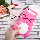 Cute Monster Silicone Soft Back Case for iPhone 6/6S(Assorted Colors)