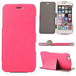 Ultra Thin Left and Right Flip PU Leather Full Body Cases Phone Protective Case with Stand for iPhone 6 Plus/6S Plus