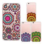 MAYCARI®Beautiful Mandalas Transparent TPU Back Case for iPhone 6/iphone 6S(Assorted Colors)