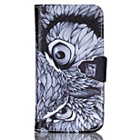 Owl Pattern PU Leather Full Body Cover with Stand for Sony Xperia Z3 Compact