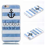Docked Pattern Phone Shell Thin TPU Material for iPhone 6/6S